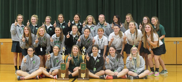 1415 State Soccer Champions with trophy