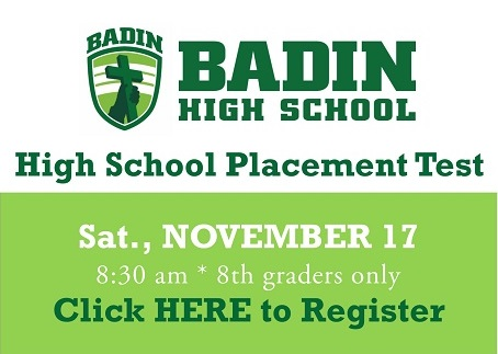 High School Placement Test info