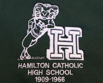 Hamilton Catholic logo on Apparel