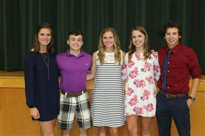 Junior Book Award Winners